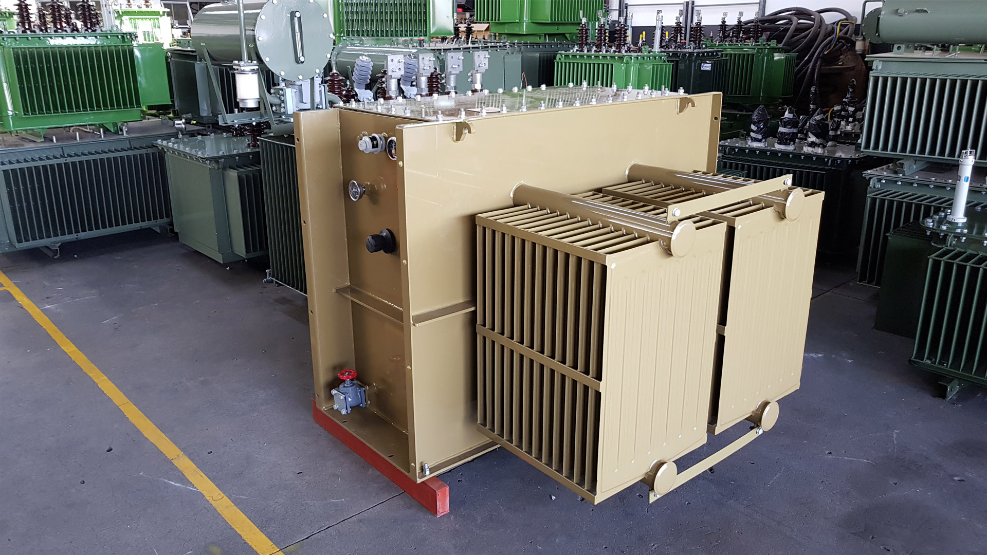 400kVA/11kV/400V Minisub Transformer